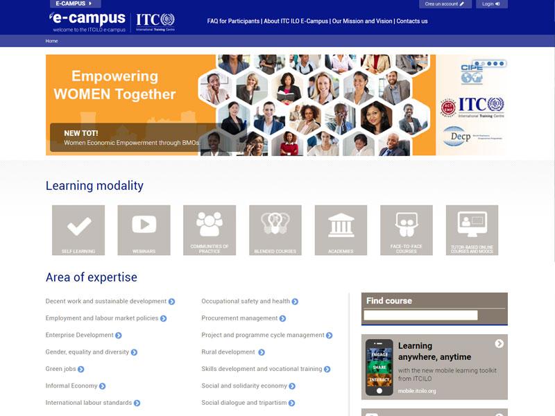 ITC ILO eCampus